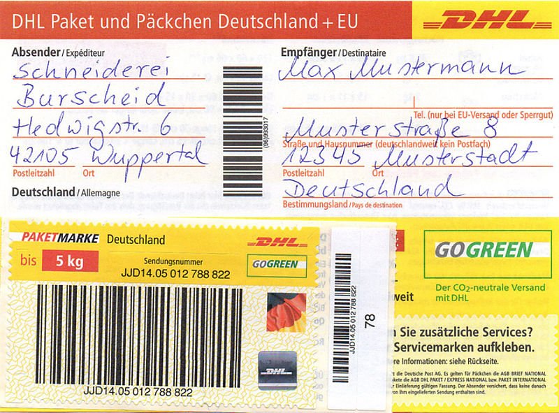 Dhl Ausland Paket
